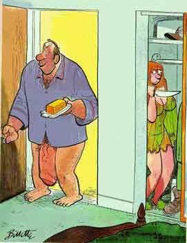 Muschi Lecken Cartoon